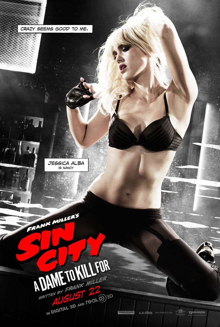 Sin City: A Dame to Kill For poster: Nancy