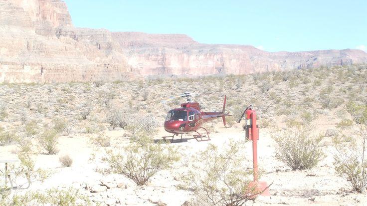 Landing on Grand Canyon