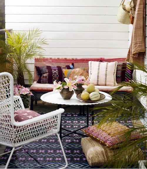 Consejos para decorar pequeñas terrazas urbanas   Tips to decorate small urban balconies · ChicDecó