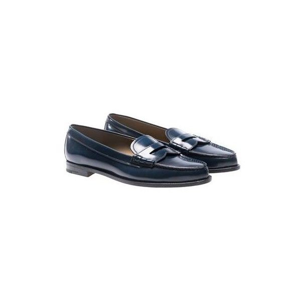 Bookbinder smoky navy loafers Churchs ZuFz3