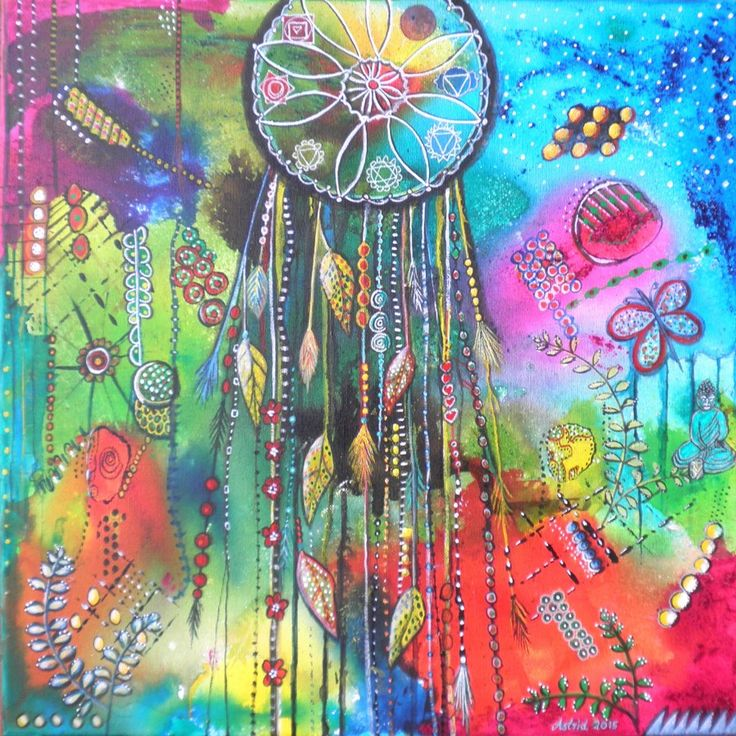 Dreamcatcher Painting - sold