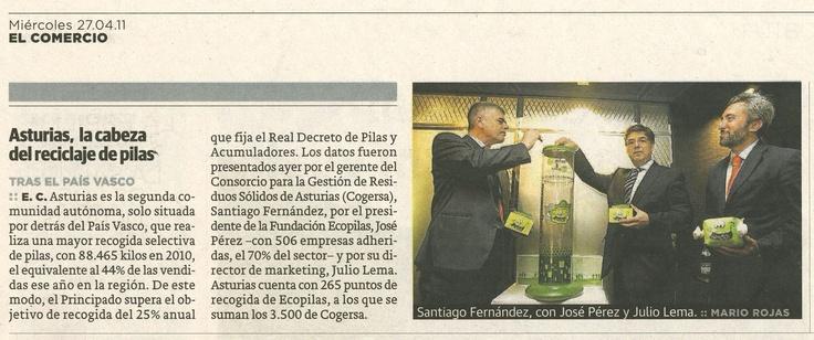 El Comercio 27/04/11
