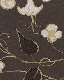 Tapet Mille Fleurs Charcoal från Zoffany