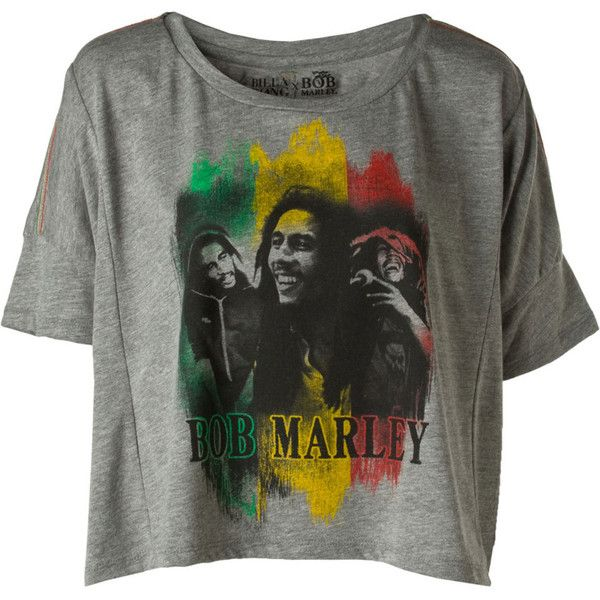 Billabong Blues Bob Marley Shirt Women's ($45) ❤ liked on Polyvore