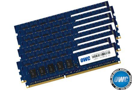 OWC 64GB ( 8x8GB ) PC3-8500 DDR3 ECC 1066MHz SDRAM DIMM 240 Pin Memory Upgrade kit For 8 Core or better  64.0GB OWC Memory Upgrade Kit 8 x 8.0GB PC8500 DDR3 ECC 1066MHz 240 Pin OWC Memory Lifetime Limited Warranty including Advanced Replacement Program | 30 Day Money Back Gu (Barcode EAN = 0812437022728) http://www.comparestoreprices.co.uk/december-2016-4/owc-64gb--8x8gb--pc3-8500-ddr3-ecc-1066mhz-sdram-dimm-240-pin-memory-upgrade-kit-for-8-core-or-better-.asp