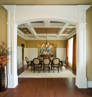 Dining Room With Lauzons Truffle Hard Maple Hardwood Flooring Available In Option Pure Genius New Air Purifying Smart Floor