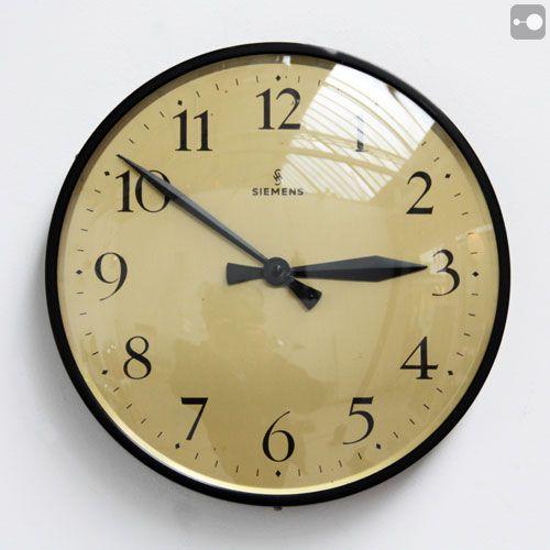 17 Best Images About Vintage Industrial Clocks On