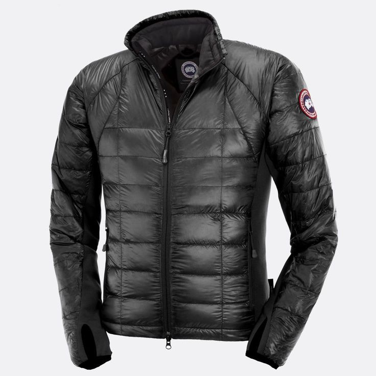 Canadian Icons - Canada Goose Men's Hybridge Lite Jacket, Graphite in size Large