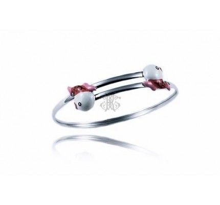 #bracelet #kids #whitegold #enamel