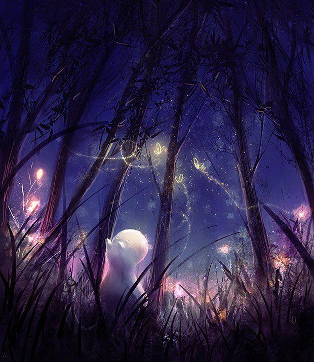 Fireflies by Zetsuboushi on deviantART