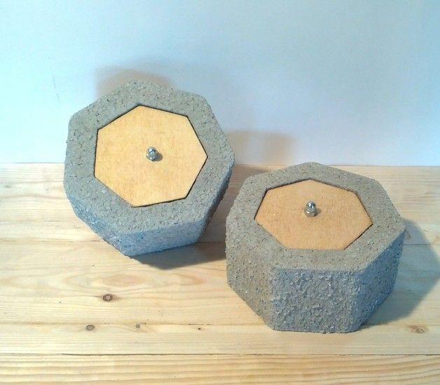 Other – concrete box – a unique product by Design-Beton on DaWanda