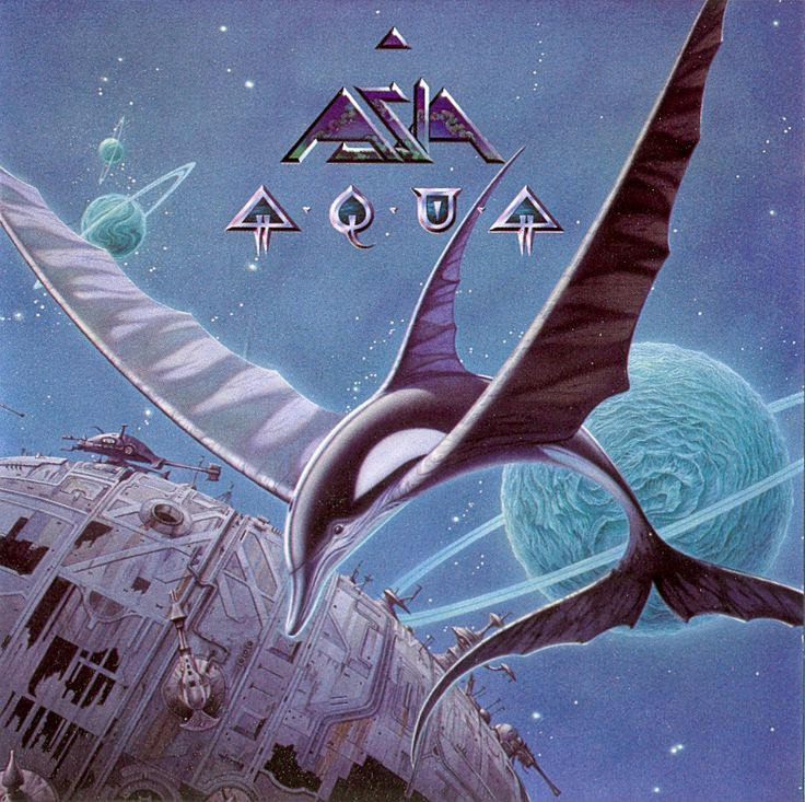 Asia album called Aqua. Incredible. I am now obsessed with this band: http://en.wikipedia.org/wiki/Asia_(band)