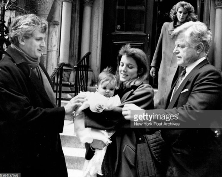 Baby Rose Kennedy Schlossberg's christening omg never seen this picture.