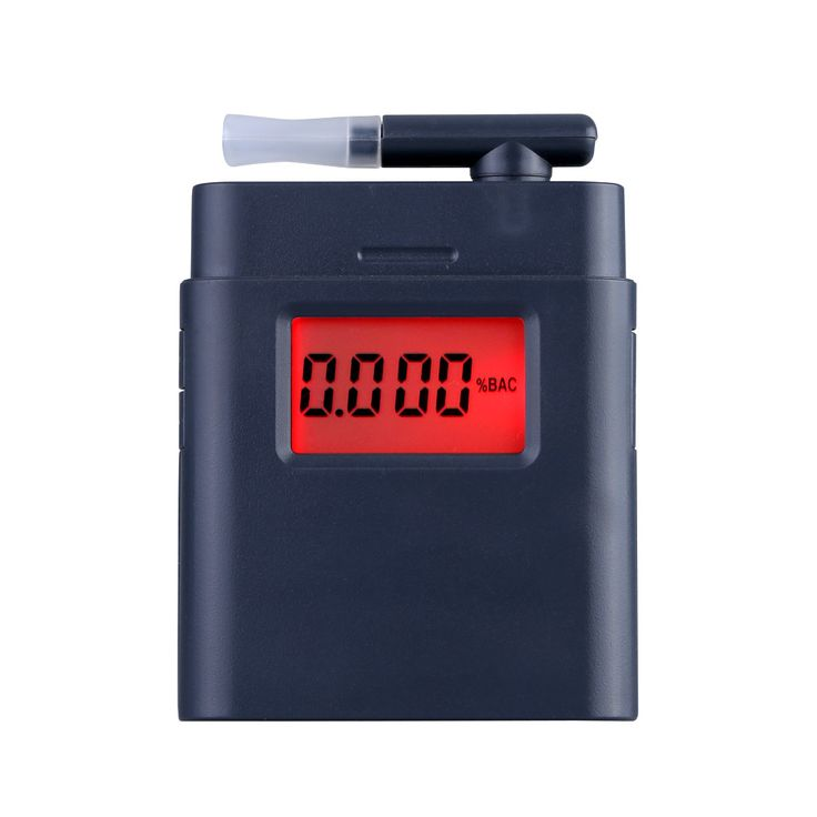 Prefessional Breath Alcohol Tester LCD Digital Breathalyzer with Backlight Alcohol Detector Alcotester