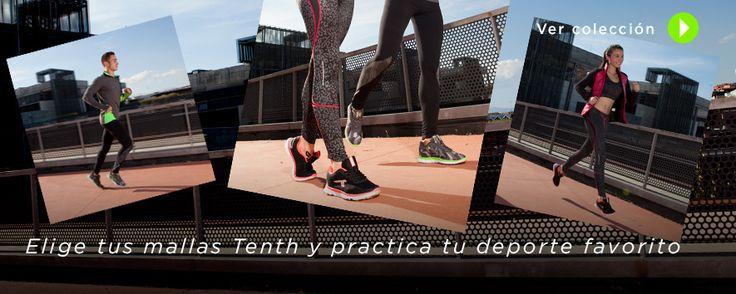 ¿Quién dijo que deporte y moda no podían ir de la mano?  No te pierdas la colección de mallas deportivas para hombre y mujer de Decimas. http://www.decimas.es/mallas-deporte-adulto.html #fashion #moda #runner