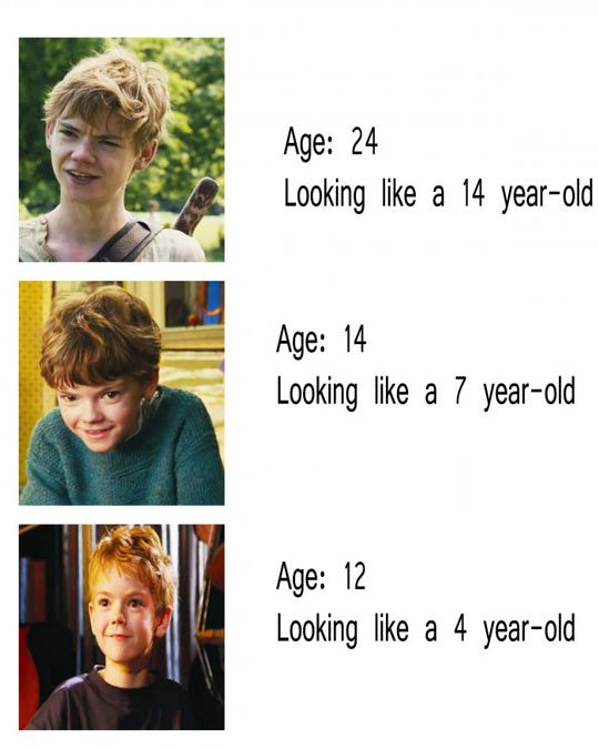 Basically. Imo, it really all depends on how the pic looks, I mean, in some, he does look 25. U just need 2 really look at the pic to see his actual age.