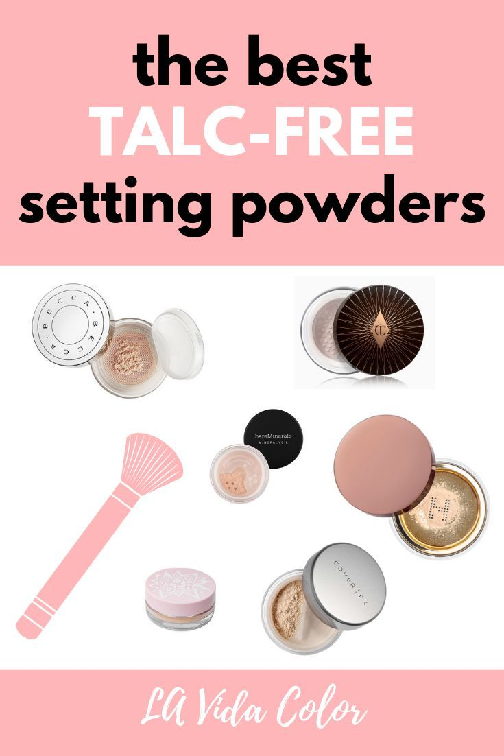 Best Setting Powders For Oily Skin That Are Talc Free Setting Powder Talc Talc Free Powder