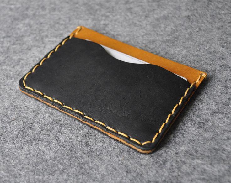 Leder Portemonnaie für Kreditkarte und Banknoten  von HAPPER auf DaWanda.com 23€