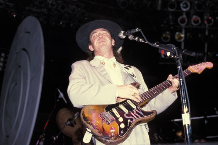 Happy birthday to the great Stevie Ray Vaughan!  : Getty images