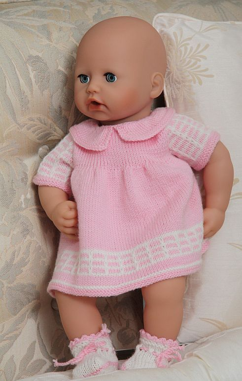 Knitting Patterns For Babies Born Asleep : Best images about dolls clothes on pinterest baby