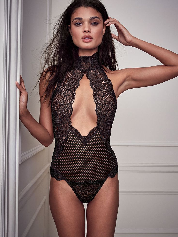 Cutout High Neck Teddy Very Sexy Victorias Secret
