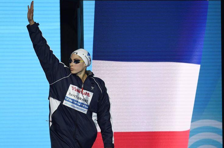 #Natation : Anna Santamans termine 6e sur sa première finale mondiale, le 50m nage libre en 24.58