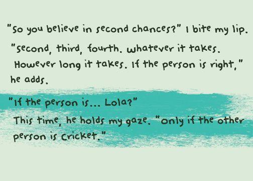 lola and the boy next door | Story Diary