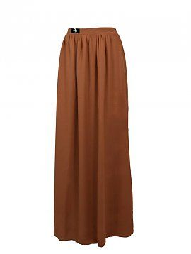 Camel Maxi Skirt
