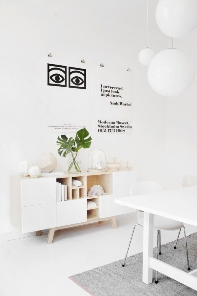 Via Coco Lapine   Abstracta Sideboard   White   Olle Eksell