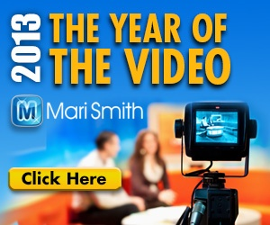 Free video - How To Explode Your Video Marketing in 2013 from Mari Smith and an Emmy award winning director. Video equipment, video production, YouTube marketing, your online TV show and more... http://www.tuberads.com