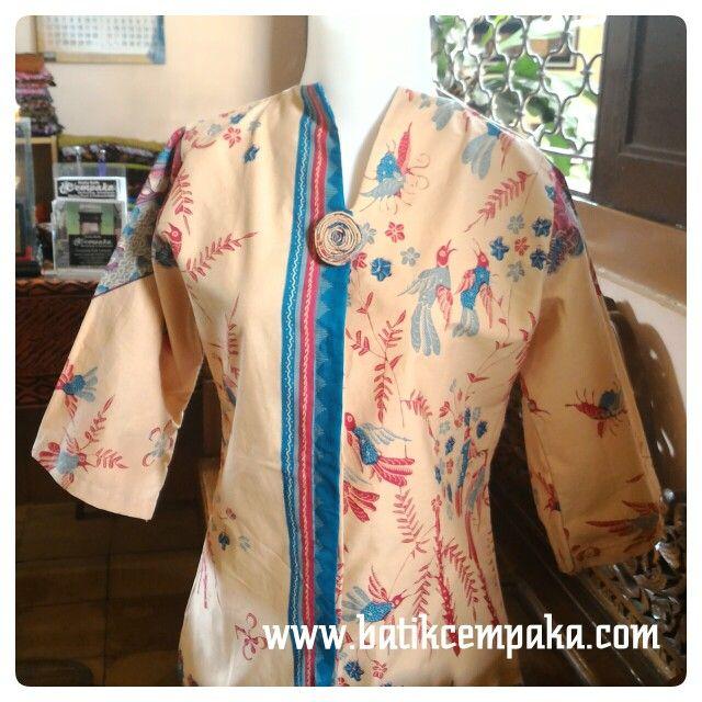 Batik wanita modern, motif peksi print pagi-sore, harga Rp 170.000 Akan lebih terlihat cantik, kalau anda yg pakai...!!