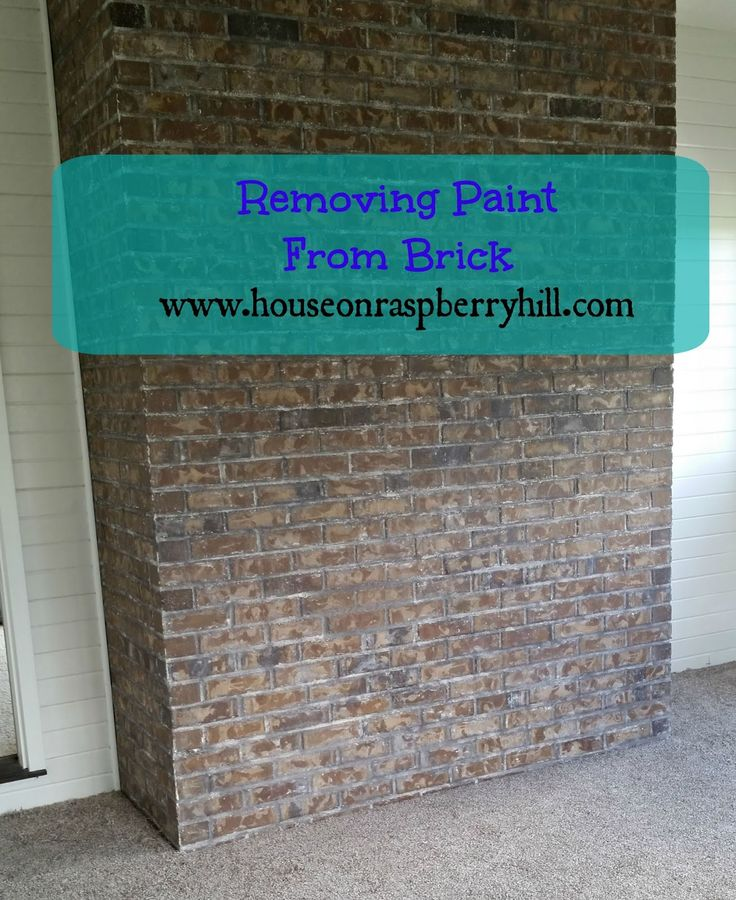 17 best images about brick treatment on pinterest whitewashed brick house and whitewash - Exterior paint removal from brick minimalist ...