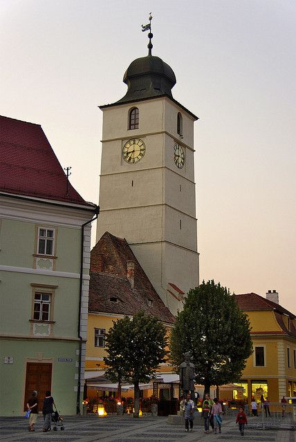 Council Tower of Sibiu, Romania