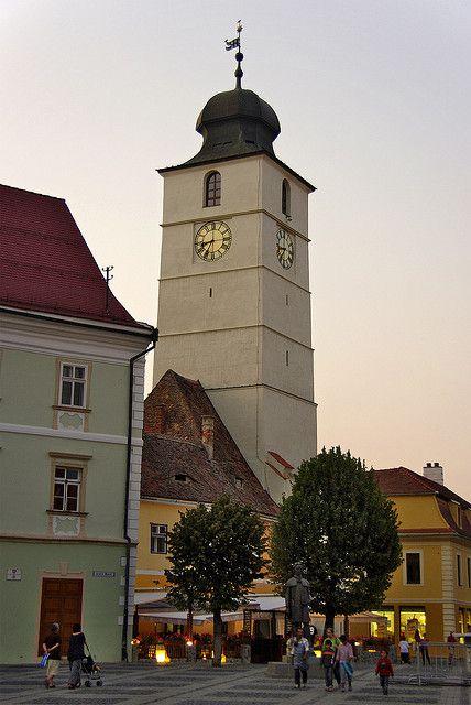 Council Tower of Sibiu, Romania