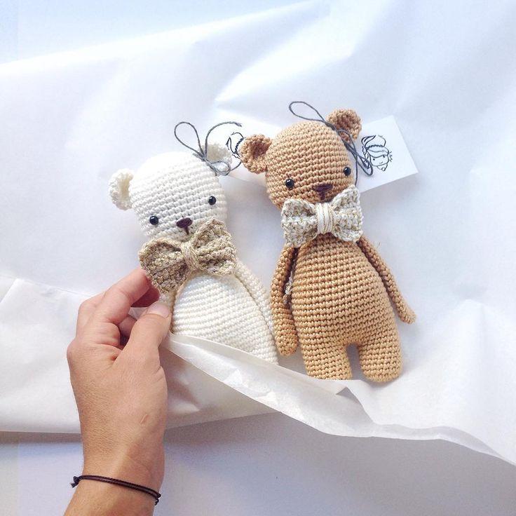 Tschüss ihr 2. Gute Reise nach Luzern. ❤️ #goldenbear #hannapopana #crochettoy #hækle #häkeln #amigurumi