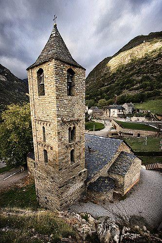 Sant Joan de Boí , Lleida. Catalonia  More landscapes images at www.alfonstrigas.com
