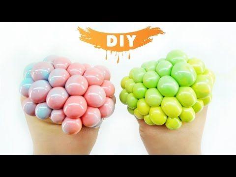 DIY: MINI Squishy Mesh Stress Ball! - YouTube