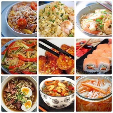 9 азиатских блюд, которые легко приготовить дома!   Вкусные рецепты