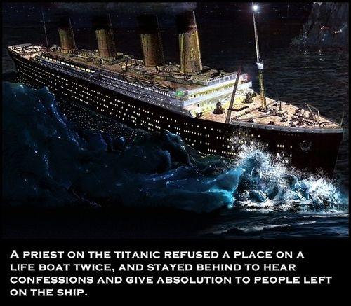 Titanic Facts I love being catholic