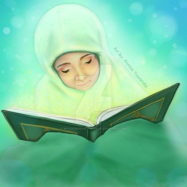 Peace and Serenity (Qur'an) by Mylucidheartwork.deviantart.com on @DeviantArt #muslim #book