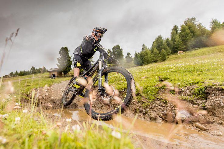 Imagefotos für den Bikepark Schöneben am Reschenpass (Südtirol)   3-Länder Enduro Trails (Italien, Österreich und Schweiz)