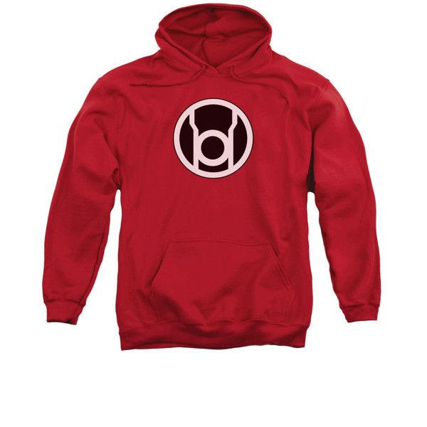 Red Lantern Logo Mens/Youth Pullover Hoodie