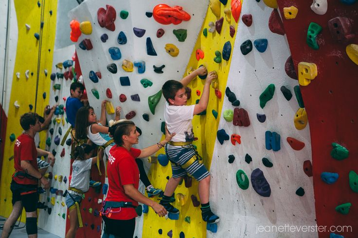 Connor�s birthday party at City Rock