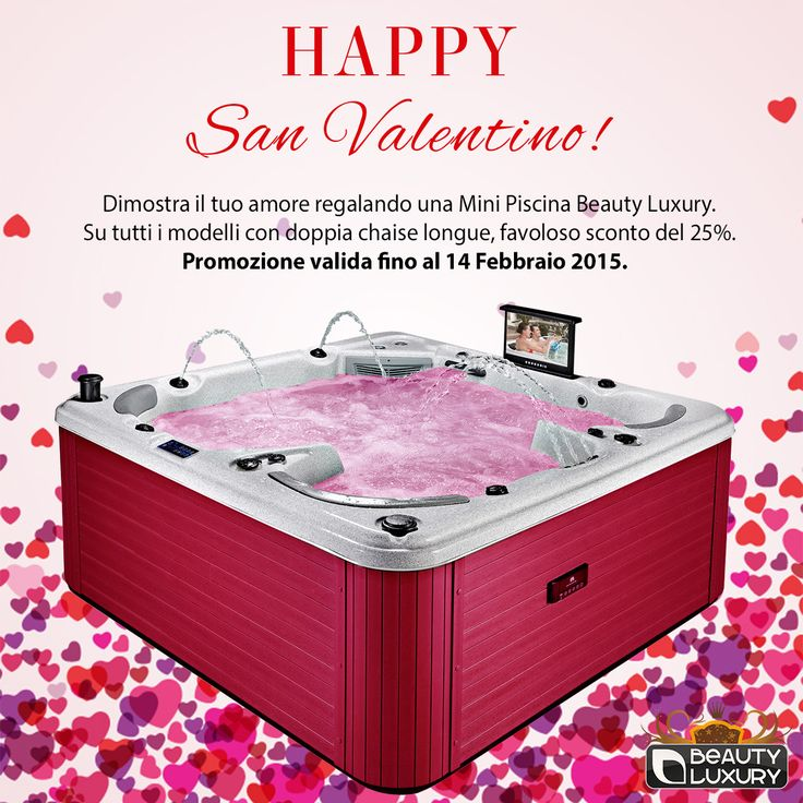 Let's Get Ready for Valentine's Day! http://www.beauty-luxury.com/en/hot-tub-spa-c-8.html