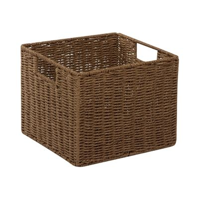 Honey Can Do STO-03567 Parchment Cord Crate