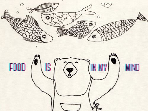 Food is in my mind :)