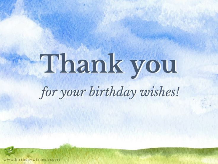 17 Best Images About Thank You Quotes On Pinterest Thank You For Happy Birthday Wishes Quotes