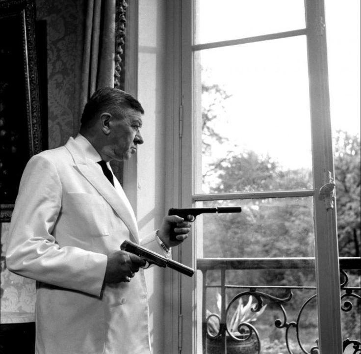 Robert Dalban, as John « Yes, sir ! » - Les Tontons flingueurs (1963)
