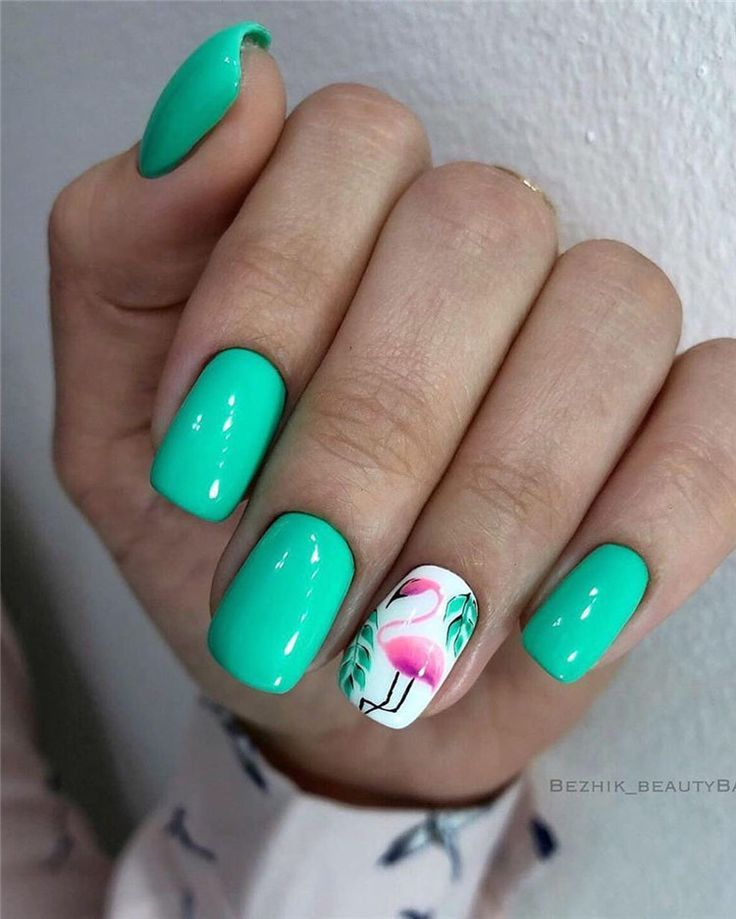 70 Cute & Stylish Gel Summer Nails for 2019