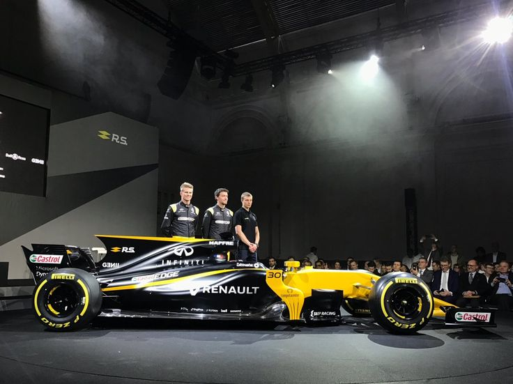 Renault F1 Car Launch at Lindley hall